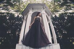 looking for (Arthur Kantemirov) Tags: russian girl model modeling photoshoot symmetry photoshop arthurkantemirovphotography park blackdress gothic postproduction wideangle woman female people