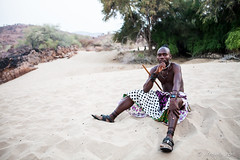 Himba Man 4052 (Ursula in Aus) Tags: africa namibia himba portrait
