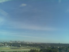 Sydney 2016 Oct 21 08:13 (ccrc_weather) Tags: ccrcweather weatherstation aws unsw kensington sydney australia automatic outdoor sky 2016 oct earlymorning