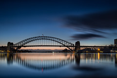 Sydney Harbour Sunrise (RoosterMan64) Tags: landscape longexposure seascape sunrise sydney sydneyharbour sydneyharbourbridge sydneyoperahouse leefilters