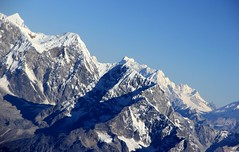 Hamalayas Everest range (nick taz) Tags: himalayas everest range