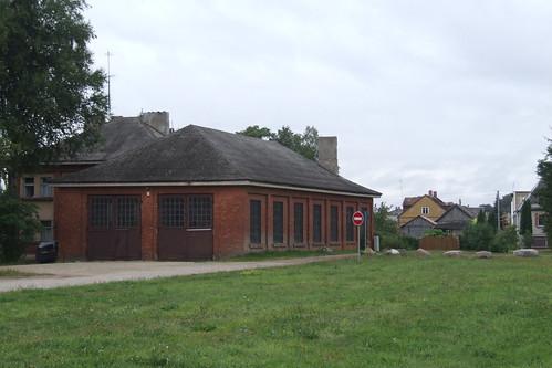 Former depot of the Biržai narrow-gauge railway station, 10.08.2013.
