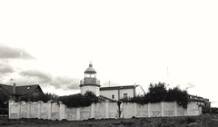Faro de Llanes (acorsinofdez) Tags: faro llanes blancoynegro blackandwhite sunset puestadesol landscape paisaje