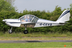 G-CEVS (QSY on-route) Tags: gcevs great north fly in 2016 eshott 19062016