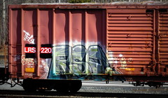 resto (timetomakethepasta) Tags: rso resto freight train graffiti art tel boxcar lrs benching selkirk new york photography