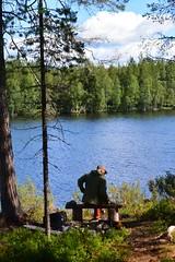 Petit Break (Bn Lefort) Tags: finlande finland finlandia lac kokkopera kusamo nature