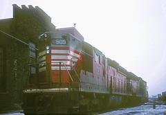 CB&Q SD24 505 (Chuck Zeiler) Tags: cbq sd24 505 burlington railroad emd locomotive clyde chz