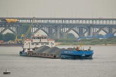 Okskiy-68 (KISoloG) Tags: river ship nizhnynovgorod okskiy brigde volga