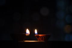 Diwali - The festival of Diyas (SarjakThakkar) Tags: diwali celebrations festival life diya light lamp flame awesome beautiful grand pilgrimage god prayer candle