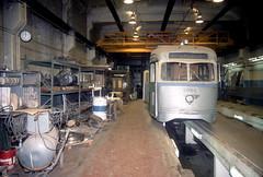 SEPTA Callowhill 3-26-90 2 (jsmatlak) Tags: philadelphia septa train tram trolley streetcar electric railway