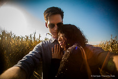 selfie with a dslr (ZS Channel Drive) Tags: cornmaze happydayfarms nj farm blackwhite bw bwphotography portraits headshots outdoorportraits selfportrait kissingselfie kissing beautiful sunset pigs animals barnanimals girlfriends relationships happiness love funny cannon1dmarkii 50mm 14mm