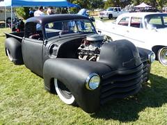 1949 Chevy 3100 (bballchico) Tags: 1949 chevrolet 3100 pickuptruck donnyconnelly billetproof billetproofantioch carshow 1940s