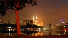 Lake Park (ac_marvin) Tags: lake park malaysia kl kualalumpur skyline titiwangsa lakepark dusk night petronas petronastower menarakl kltower skyscraper tower building archetecture architecture canon eos 750d t6i rebelt6i cityscape urban urbannature