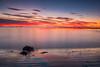 Sunrise Kaikoura (Stefan Nikoloff) Tags: highcontrast highquality infocus kaikoura zealand new 2470mm nikon d750 sunrise morning beach red colour colourful rocks boulders sand stones reflection exposure long