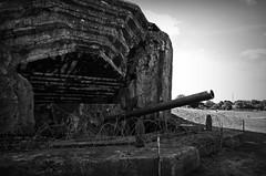 Geschützbunker - Atlantikwall (Knarfs1) Tags: dday invasion battery batterie normandie normande normandy atlantikwall liberation route