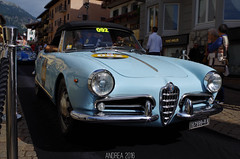 Alfa Romeo Giulietta Spider (Andrea the sleeper) Tags: coppa doro delle dolomiti cortina dampezzo aci asi storico race gara regolarit rare car cars historic barn find