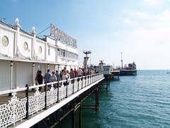 Brighton Pier (divnic) Tags: uk england brighton westsussex brightonpier pier brightonmarinepalaceandpier pleasurepier palacepier rstgeorgemoore