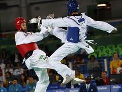 COMPETENCIA DE TAEKWONDO (skyrosredes) Tags: deporte taekwondo eventosdeportivos juegosolmpicosdeverano rodejaneiro brasil