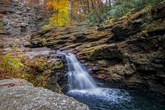 Nay Aug Gorge (jamiebhannigan) Tags: pennsylvania northeastpennsylvania nature nay aug park gorge waterfall autumn fall fallfoliage waterfalls woods woodlands rocks