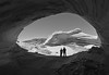 Black and White Alcove (photo61guy) Tags: nikond7000 nikon1024mm stitched panorama northcoyotebuttes sanddunes sand sanddunealcove az arizona nature landscape blackandwhite vermilioncliffs challengeyouwinner platinumheartaward
