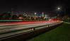 Lake Shore Drive Skyline (ShutterRunner) Tags: chicago skyline night lakeshoredrive lightgraffiti