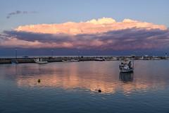 Agios Andreas (sarah_presh) Tags: agiosandreas greece peleponnese sunset harbour sea boats clouds nikond750