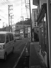 typical Japanese rural town (-ICHIRO) Tags: street snap agfa sensor 505d toy camera
