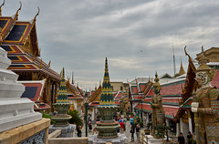 Ominous Sky, BANGKOK (8mr) Tags: thailand thai grand palace wat king gold detail oriented kingdom temple golden beauty sony a7 daytime mourning ominous mood