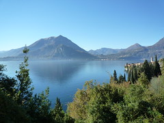 Panorama over Como lake from Varenna (SoniaM (Italian teacher)) Tags: italia italy lombardia varenna lagodicomo comolake lago laghi lake lakes village villages paese paesi landscape paesaggio paesaggi panorama view nature natura travel viaggio viaggi travels culture water acqua