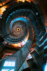 Fibonacci Stairs | Looking Up (Tedz Duran) Tags: tedxduran thelighthouse glasgow scotland uk stairs stairways staircase spiral fibonacci looking up down architecture old new building structure lighthouse travel rural urban urbanscape photography roadtrip sony ilce 7rm2 a7rii voigtlander heliar 15mm iii