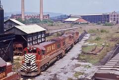 LV 501 (irail2010) Tags: lehighvalley lv ge sayre railroad railway uboat