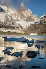 Cerro Torre (sierra_bum) Tags: canon canonusa argentina los glaciares flickr tokina tokinausa landscapes ice glacier mountains reflection southamerica andes