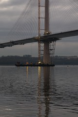 New Forth Crossing, December 2016 15 (Bill Cumming) Tags: fife forth riverforth newqueensfewrrycrossing bridge sunset gloaming
