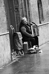 Gipsy musician (xiaolifra) Tags: shadow siviglia walking espana spain lights chance portraits picoftheday photo moment time bridge amazing colorful dark blackwhite black simply emotions