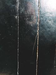 221/366 (abnormalbeauty.) Tags: door black wood cracks rotten broken old london british english house lonely light dark