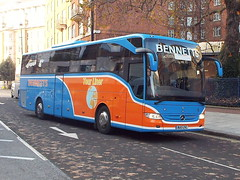 BU13ZVC (47604) Tags: nationalexpress bennetts bus coach gloucester london victoria
