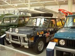1971 Range Rover (quicksilver coaches) Tags: landrover rangerover dariengap vxc868k heritagemotorcentre gaydon
