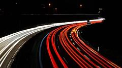 A73 (jannebaer) Tags: autobahn car auto street light scheinwerfer rcklicht nacht night