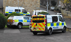 Three's a crowd (Cobalt271) Tags: nx08jvp eo66czh kn62obe northumbria police proud to protect livery