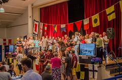 Crew Dinner - Paimpol (Matchman Devon) Tags: classic singing regatta channel paimpol salledesfêtes