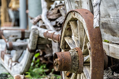 Old wheel (wigerl - herwig ster) Tags: wood light mountains berg wheel austria licht sterreich europa europe foto sommer sony rad captured krnten carinthia grn holz 18105 glens ilce turrach a6000
