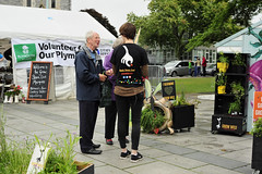 GrowWildStall_23_Fotonow (FOTONOW (CIC)) Tags: city flowers wild people kew gardens square community stones centre grow seed plymouth seeds stepping council guildhall