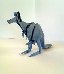 Kangaroo (orig4mi.) Tags: paper origami kangaroo fold