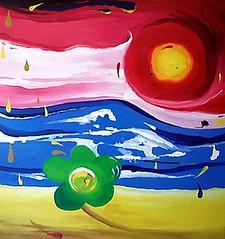 (Nada se pierde si lo que fluye son llaves abiertas) (Felipe Smides) Tags: sol painting madera agua viento fuego tinta pintura óleo smides felipesmides