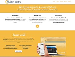 "muslimcentral homepage redesign • <a style=""font-size:0.8em;"" href=""http://www.flickr.com/photos/10555280@N08/20640986802/"" target=""_blank"">View on Flickr</a>"