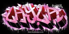 Layla   Custom Graffiti Illustration (www.visualescape.co.uk) Tags: digitalgraffiti graffitiillustration personalisedart customgraffiti