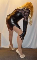 22 (read my Profile before anything!!!!!) Tags: leather high buffalo beige highheels mini skirt heels heel stiletto corsage stilettos higheels