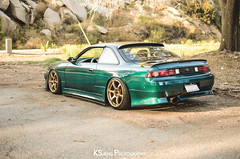 Ronald's S14 - 35 (KSaengphotography) Tags: nissan turbo silvia drift 240sx slammed stance nismo kouki s14 naritadogfight canibeat stancenation