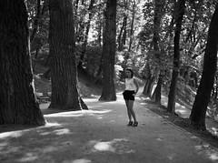 Dominika_4_BW_2_SM (analog dream..) Tags: camera summer portrait bw white black mamiya film girl monochrome analog self 645 factory kodak bokeh dream epson medium format portra developed 160 dominika 80mm 802 tbf c41 v700