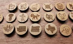 BreadAndBadger2351 (thea superstarr) Tags: seattle wood work handmade pdx custom pnw alder madeinusa lasercut pacficnorthwest laserengraved breadandbadger 6by6arts